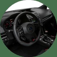Subaru Dashboard and Steering Wheel