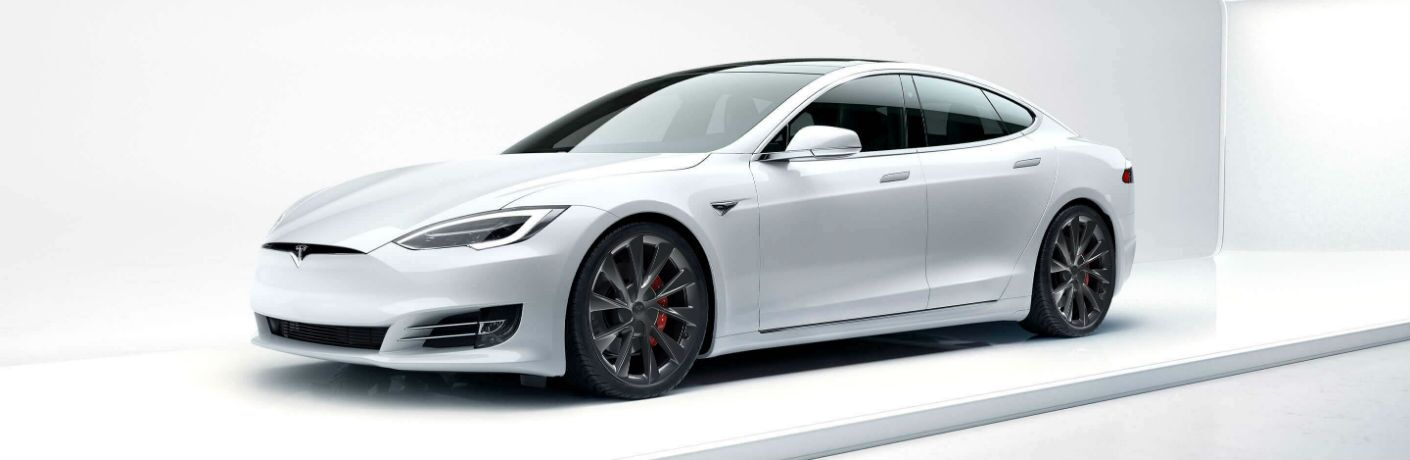 2019 Tesla Model S Exterior Driver Side Front Profile