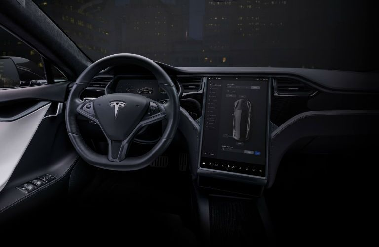 2019 Tesla Model S Interior Cabin Dashboard
