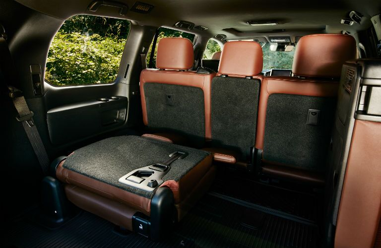 2019 Toyota Land Cruiser Interior Cabin Seating Split Folded