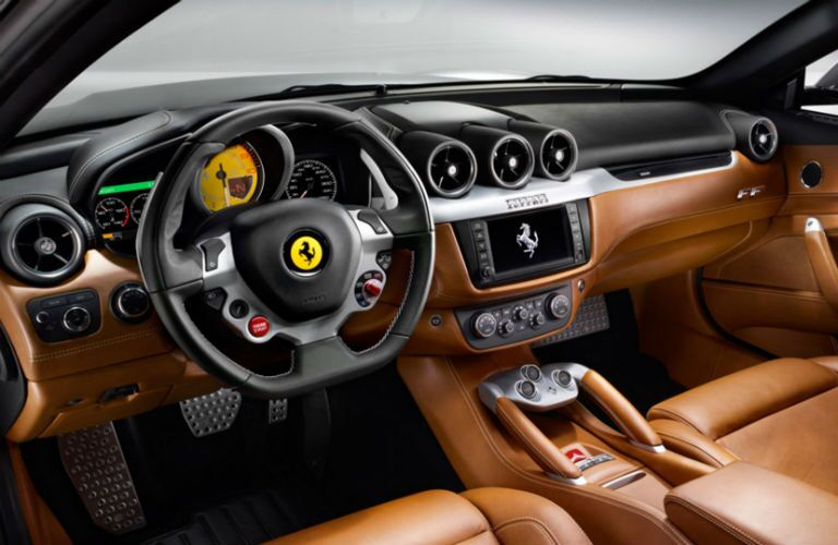 Used Ferrari FF Interior Cabin Dashboard