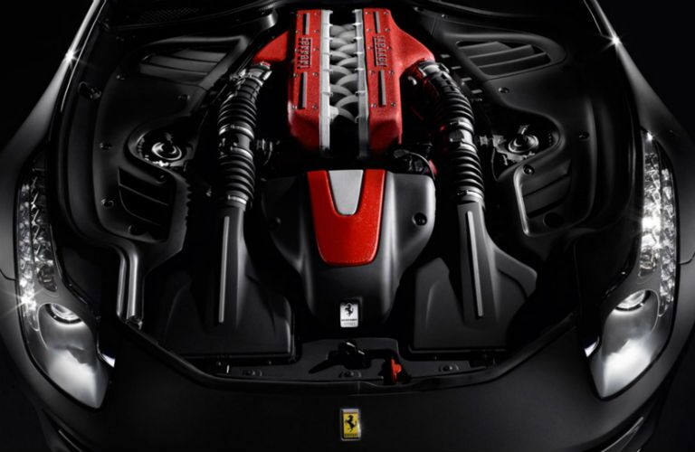 Used Ferrari FF Interior Engine Bay