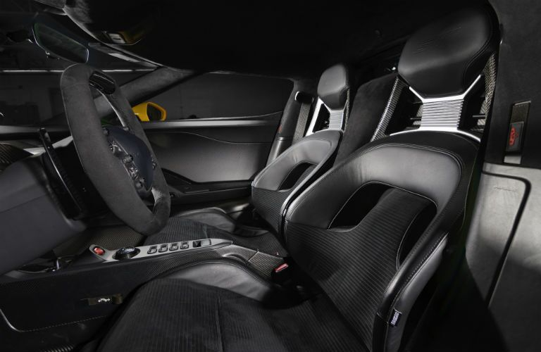 Used Ford GT Interior Cabin Seating