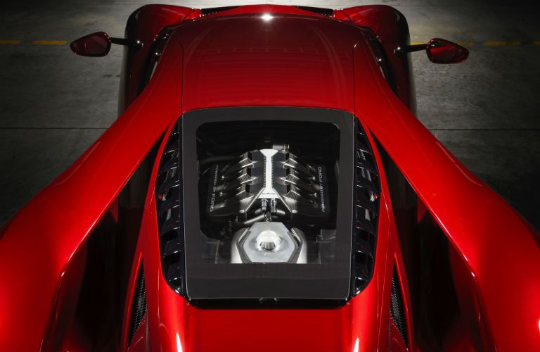 Used Ford GT Exterior Aerial View of Engine Bay