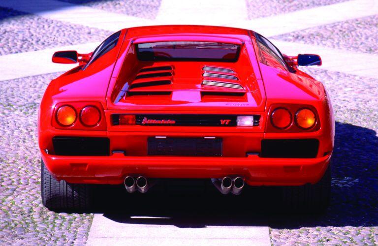 Lamborghini Diablo Exterior Rear Fascia