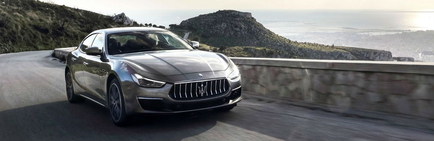 Maserati Ghibli Exterior Passenger Side Front Angle