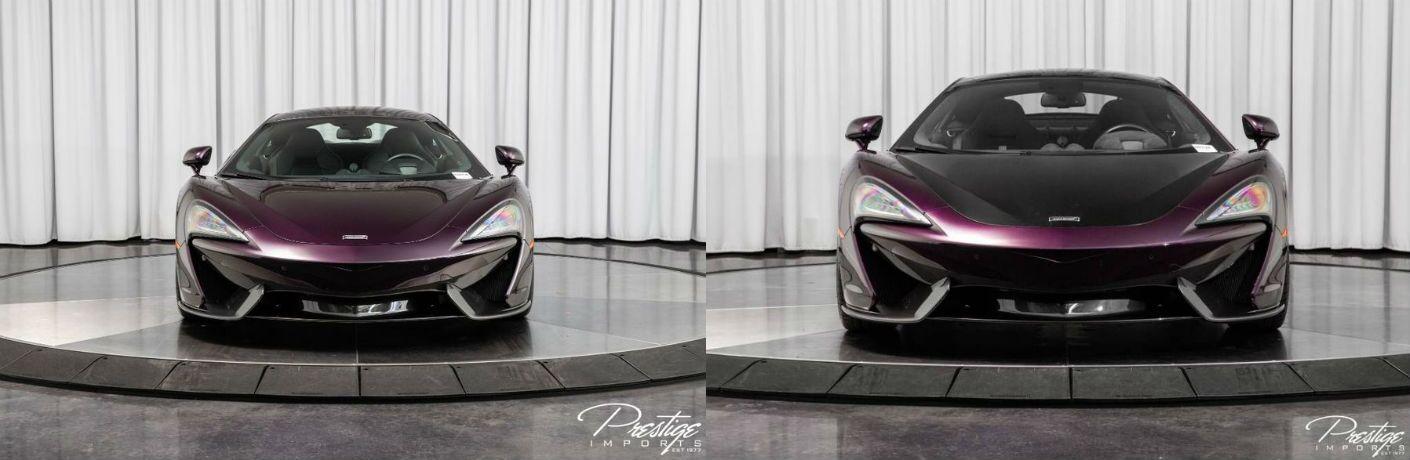 2017 McLaren 570S & 570GT Exterior Front Fascia