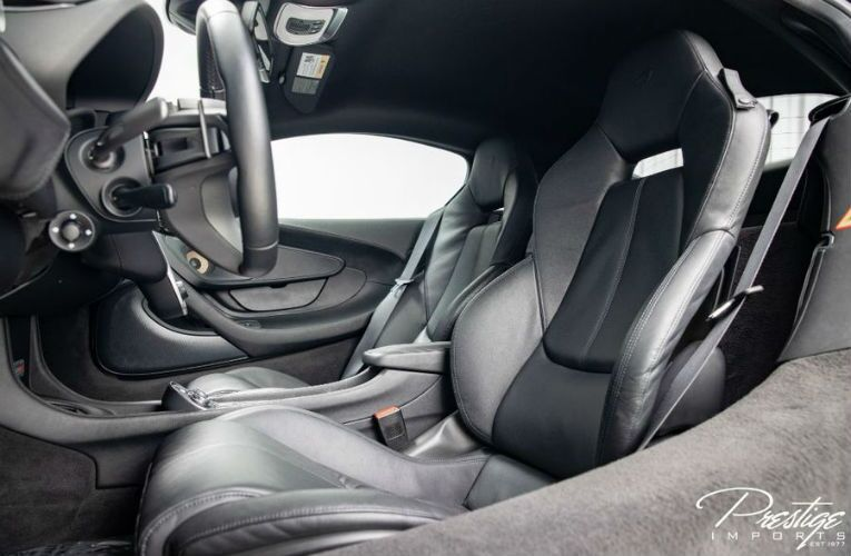 2017 McLaren 570S Interior Cabin Front Seating