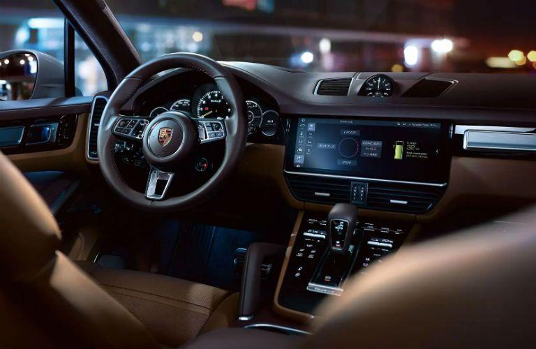 Porsche Cayenne Interior Cabin Dashboard