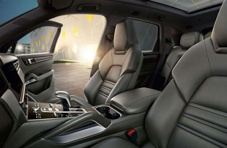 Porsche Cayenne Interior Cabin Seating