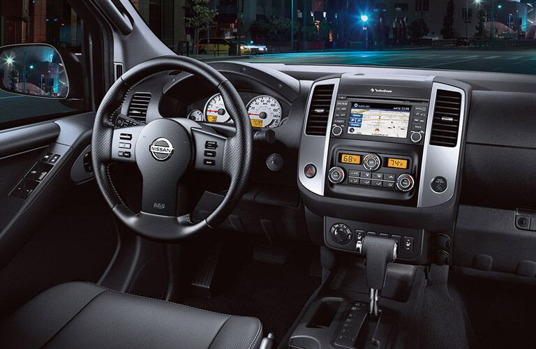 2016 Nissan Frontier interior front driver's seat