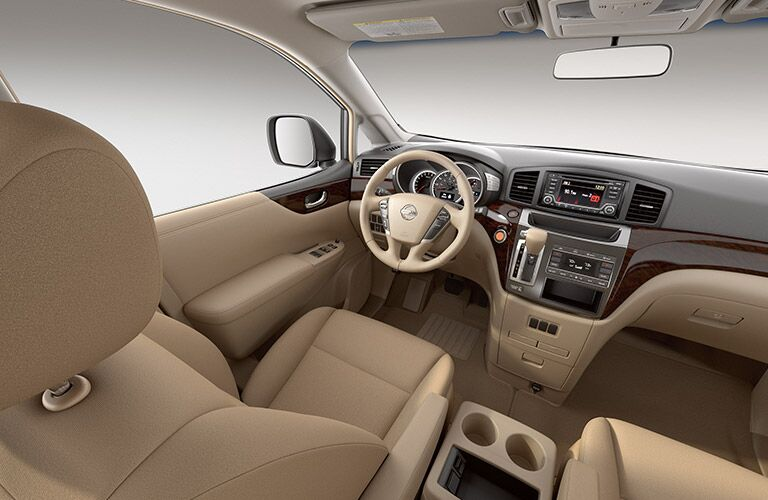 2016 Nissan Quest interior seats and dash