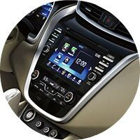 2016 Nissan Murano interior infotainment