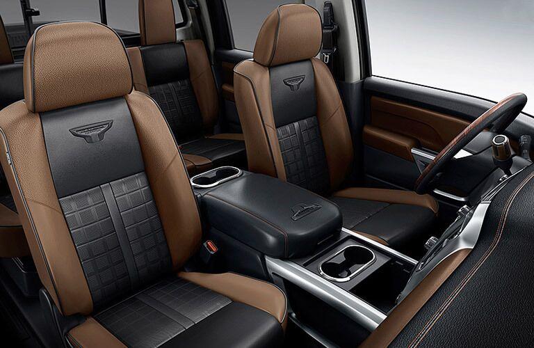 2017 Nissan Titan XD interior seating