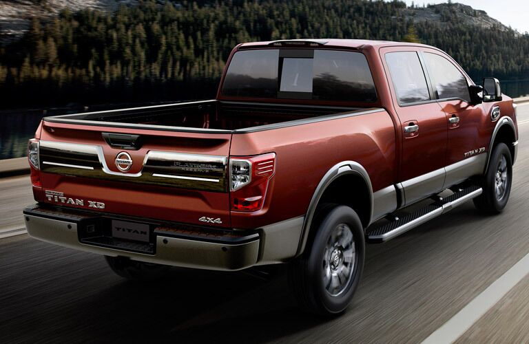 2017 Nissan Titan XD exterior driving rear bed