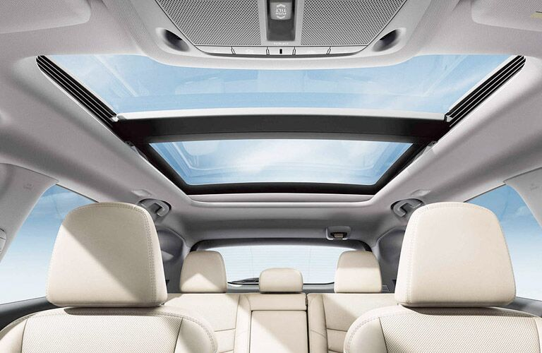 panoramic sunroof of nissan murano