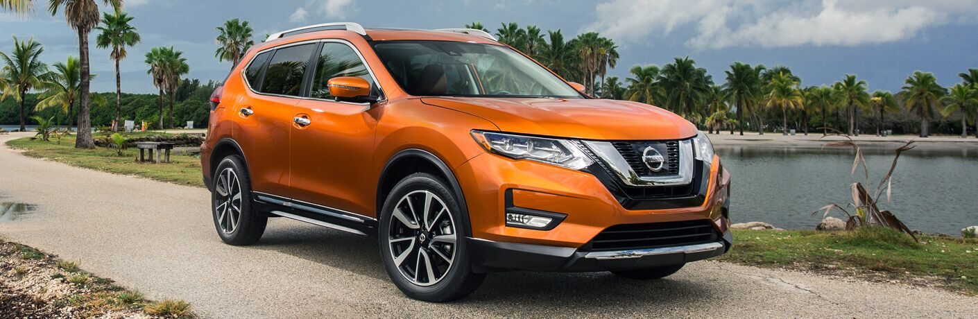 Exterior on the 2017 Nissan Rogue