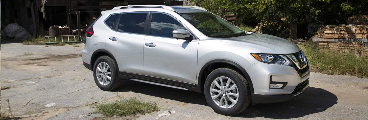 silver 2017 Nissan Rogue exterior front side
