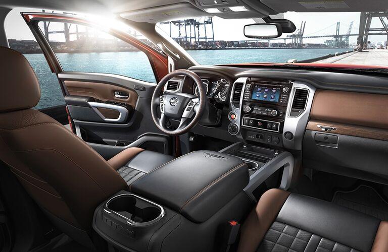 2018 Nissan Titan XD dashboard