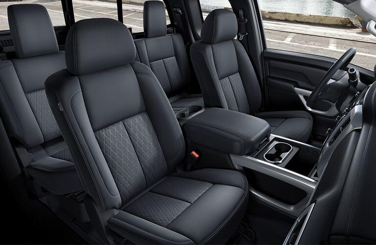 2018 Nissan Titan XD seating