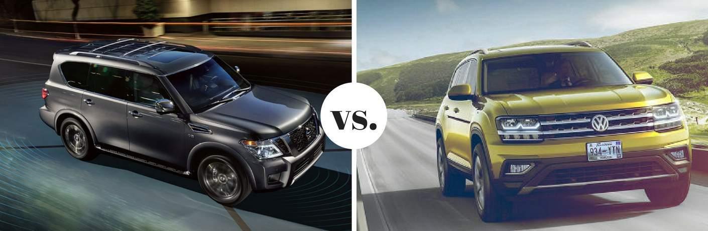 2018 Nissan Armada vs 2018 Volkswagen Atlas