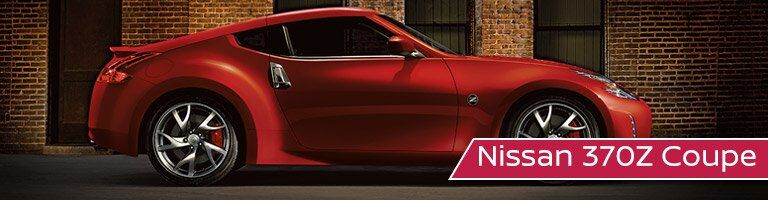 red 2017 Nissan 370Z Coupe exterior side