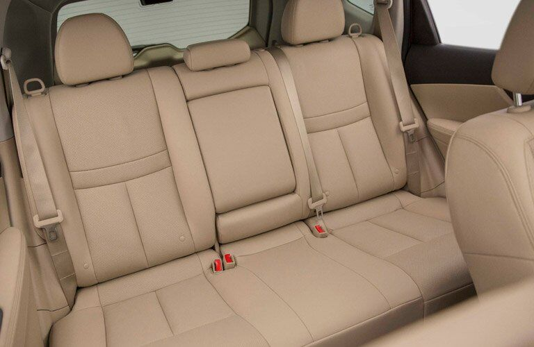 2017 Nissan Rogue interior rear seats