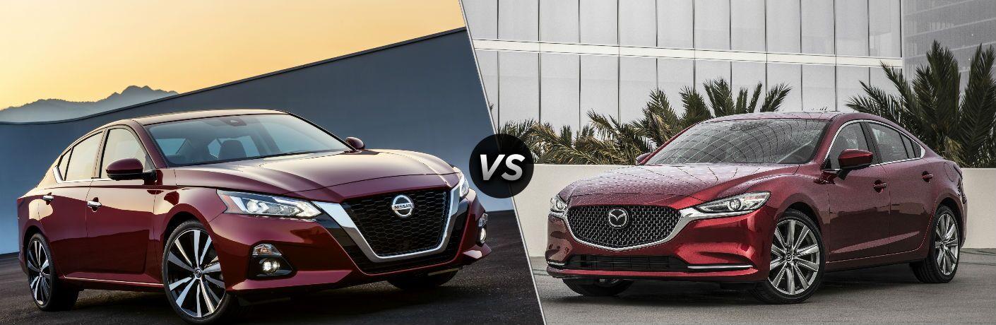 2019 Nissan Altima vs 2018 Mazda6