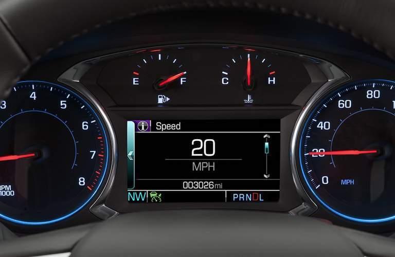 2018 Chevrolet Malibu dash icon view.