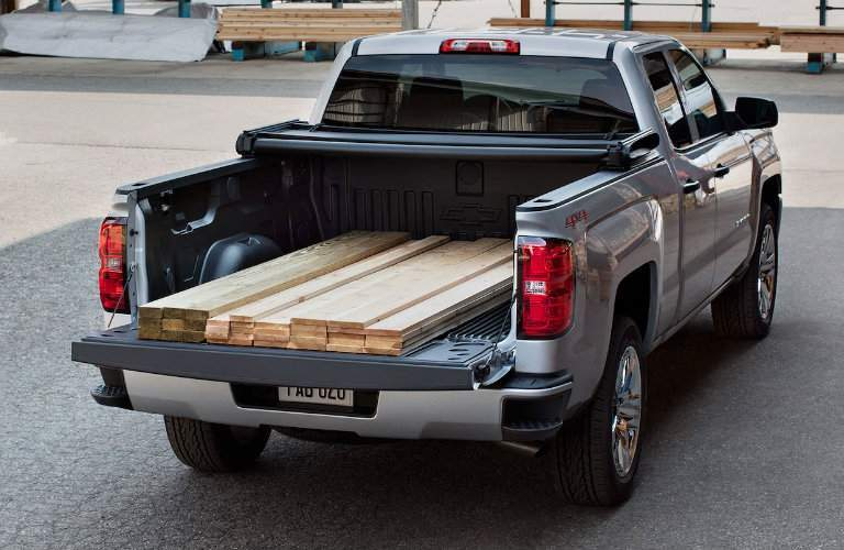 2018 Chevy Silverado 1500 bed length