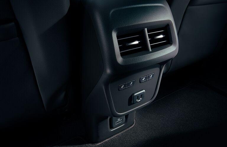 Rear air vent of 2019 Chevrolet Equinox