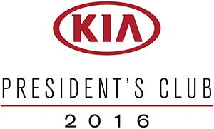 2016 Kia Presidents Award