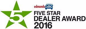 2017 Edmunds Five Star Dealer Award
