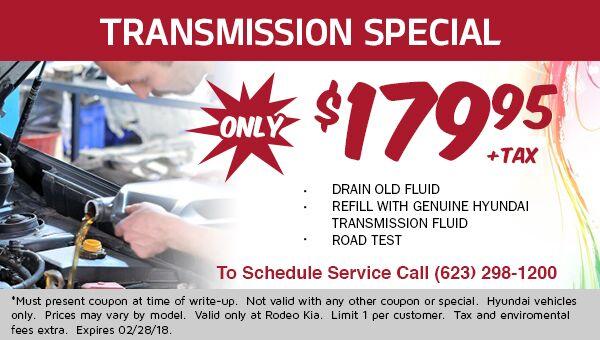 Transmission Service $179.95