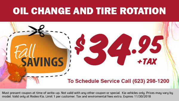 Fall Oil Change Special