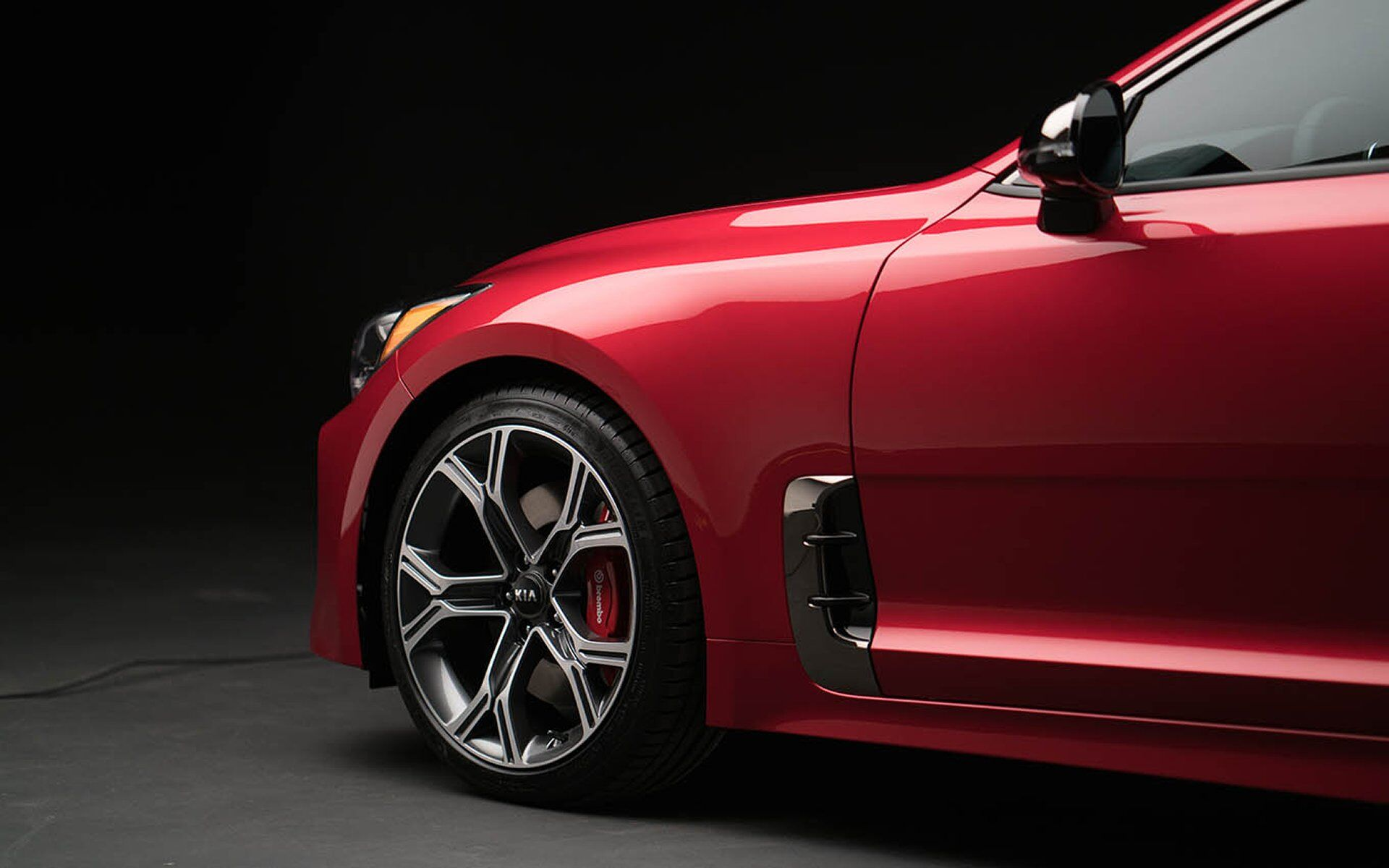 All-New Kia Stinger Sport Sedan