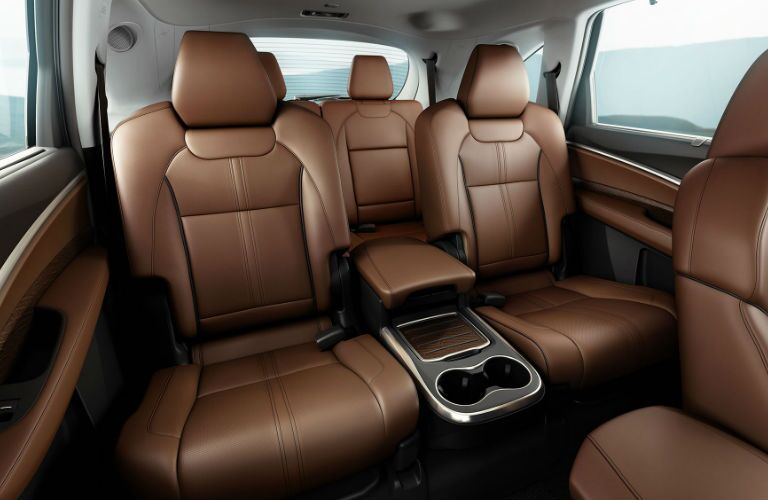 2017 MDX Second Row Seats