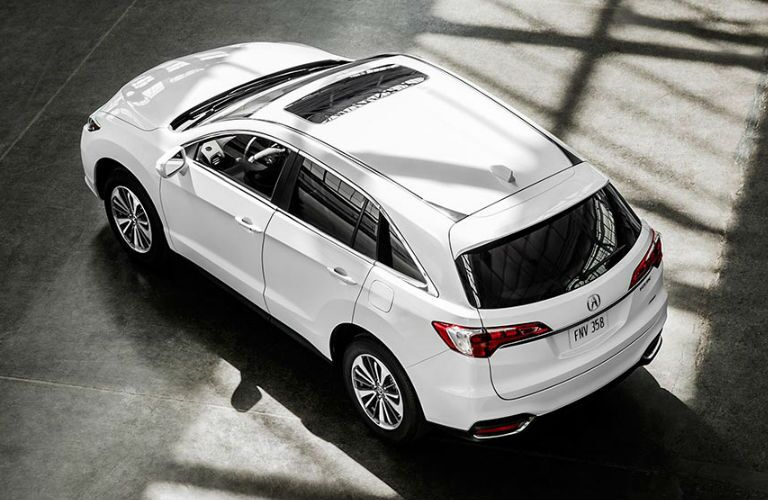 2017 RDX exterior bird's eye view