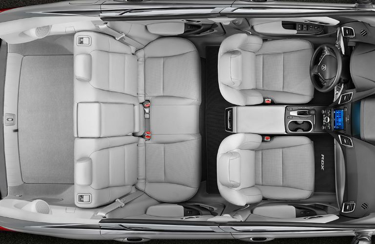 2017 RDX cabin bird's eye view