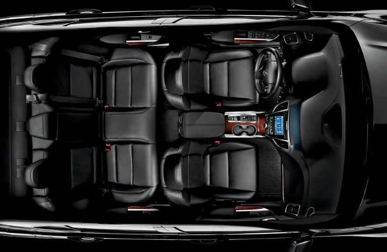 2017 TLX Cabin