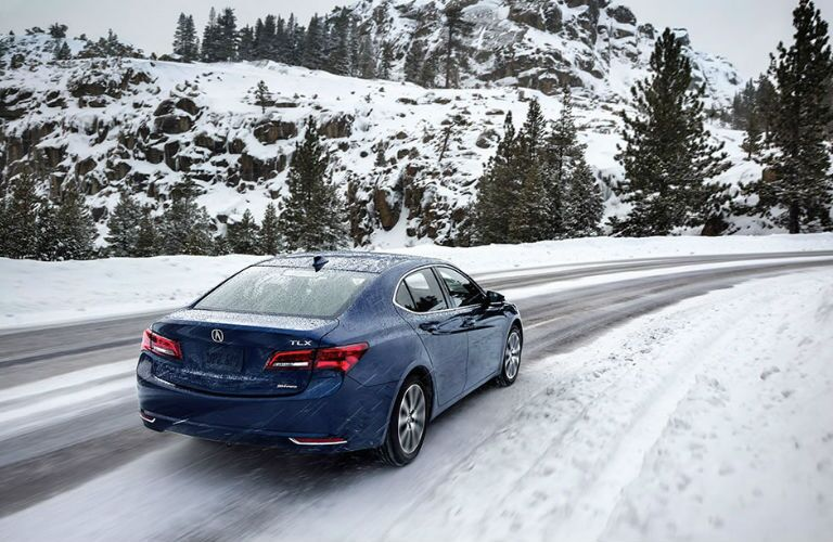 2017 TLX Driving in snow