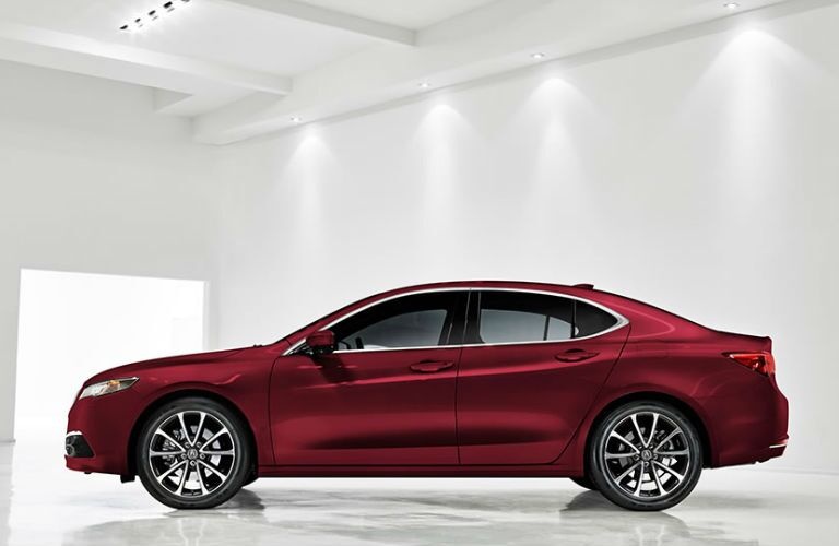 2017 TLX in Red