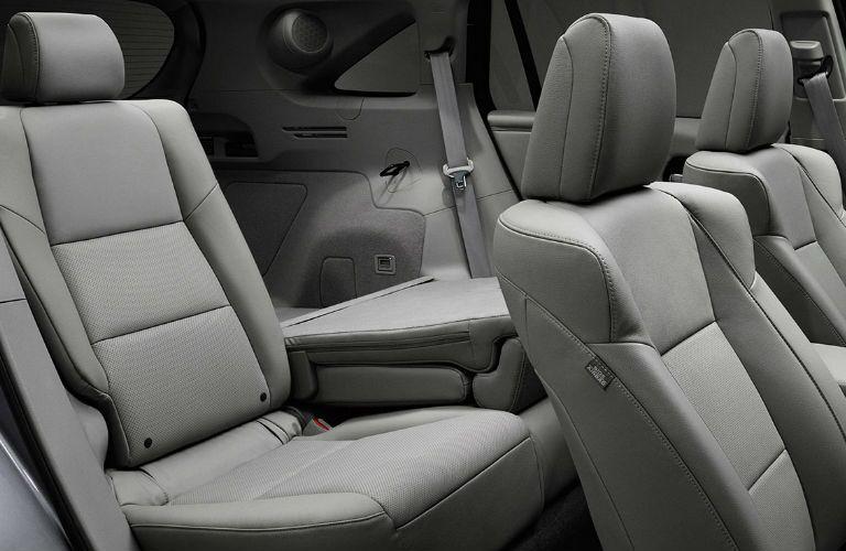 example of folding rear seats