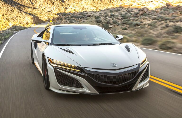 2017 Acura NSX Fort Wayne IN White Exterior