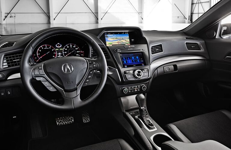 2018 Acura ILX front interior from driver's side view