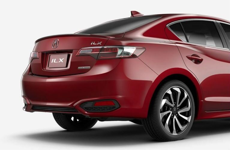 2018 Acura ILX rear end