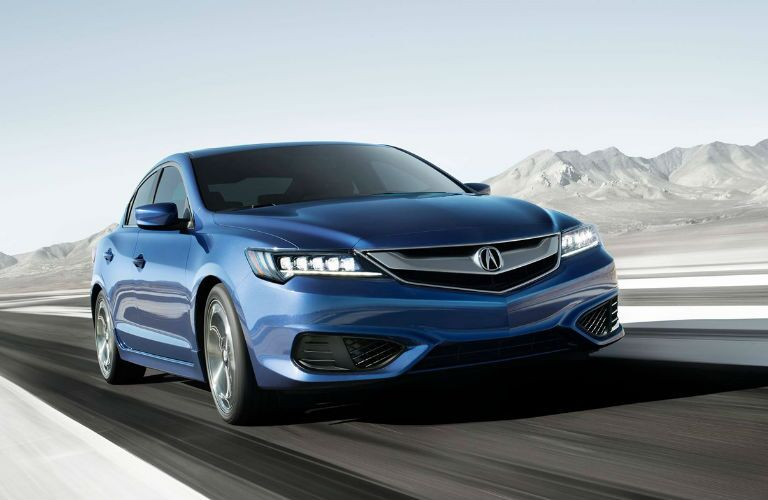 2018 Acura ILX with Special Edition Package in Catalina Blue Pearl