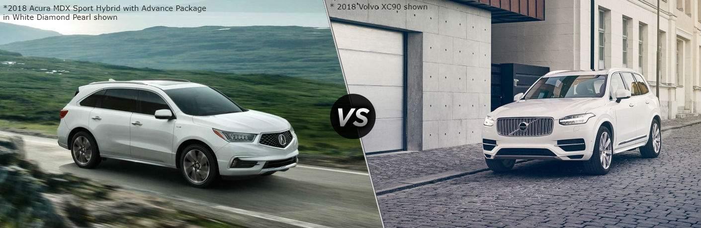2018 Acura MDX vs 2018 Volvo XC90