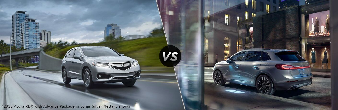 2018 Acura Rdx Vs Lincoln Mkx Fort Wayne