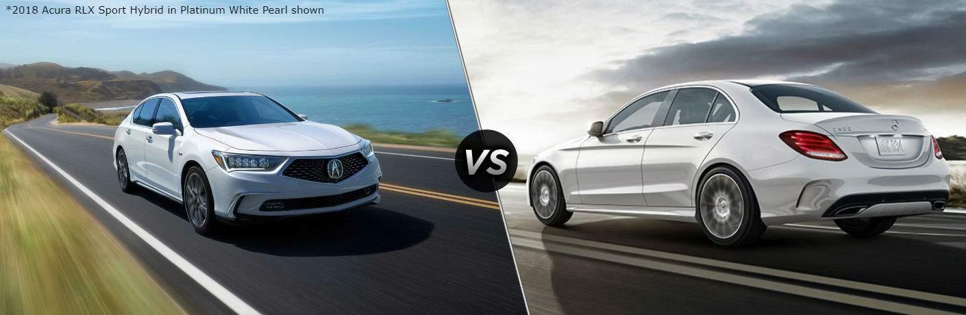 2018 Acura RLX vs 2018 Mercedes-Benz C-Class Sedan